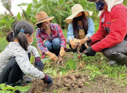 親子で作ろう!「農家が教える、あの農家めし」 in オール電化体験施設 カエルぴあなは